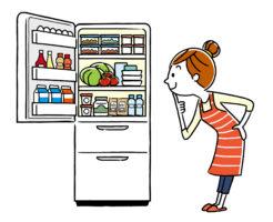 冷蔵庫を除く主婦
